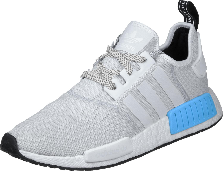 34c66572d452 adidas NMD R1 Schuhe grau blau