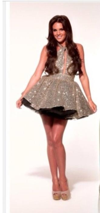 dress gold metallic sequins sparkle sparkly dress party dress short party dresses