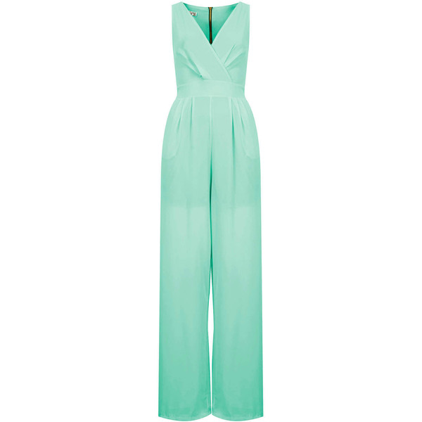 **Cross Bust Jumpsuit by Wal G - Polyvore