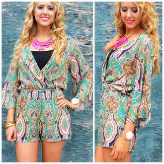 romper exotic bold girly amazing dreamy dress