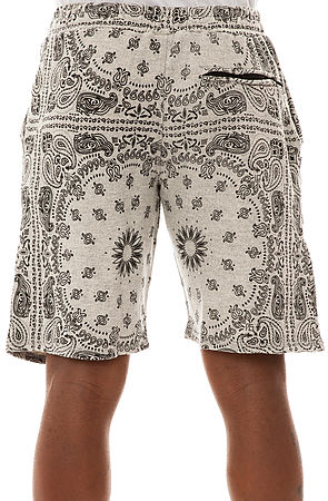 Crooks and Castles The Bandana Sweatshorts in Heather Grey : Karmaloop.com - Global Concrete Culture