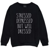 sweater,stressed,streetwear,weed socks,funny sweater,sweatshirt,printed sweater,black,white,letters,dope letter one piece swimsuit,dope,dope oversized sweater,urban,t-shirt