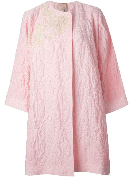 Antonio Marras coat oversized purple pink
