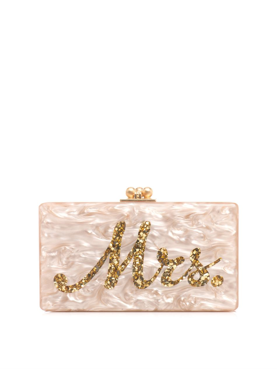Mrs. box clutch | Edie Parker | MATCHESFASHION.COM