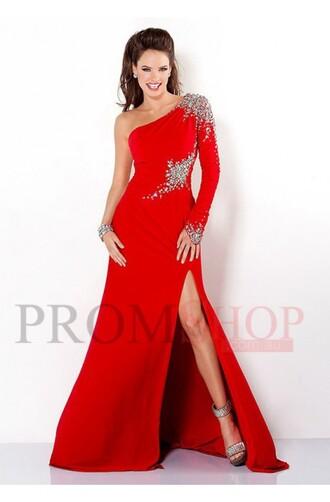 dress prom dress evening dress red dress