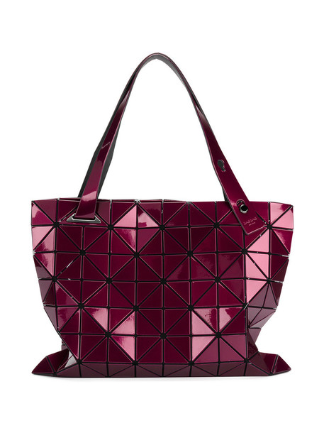 Bao Bao Issey Miyake - Lucena tote - women - PVC - One Size, Pink/Purple, PVC