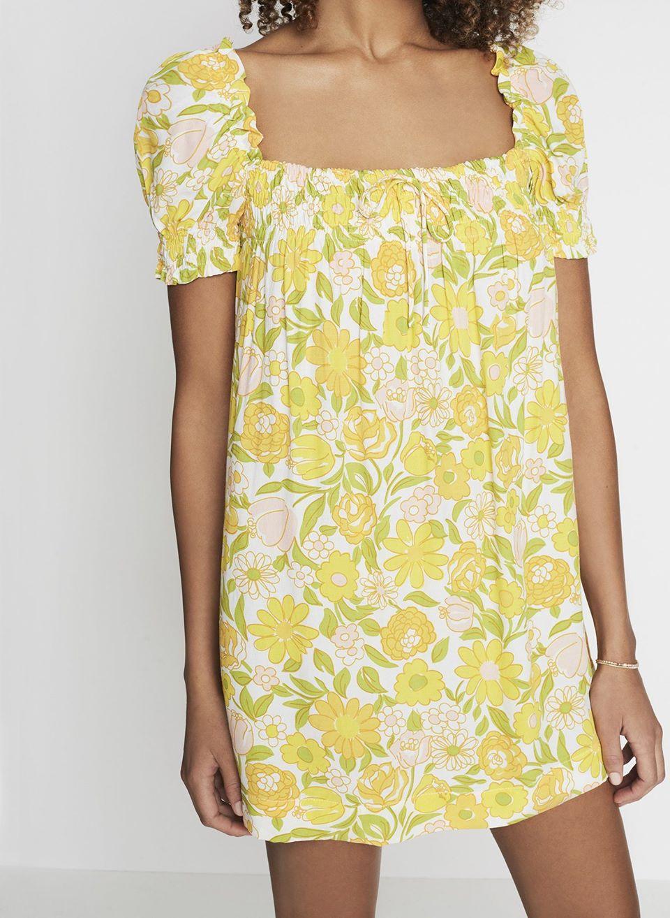 Jolene Floral Print - Fleur Mini Dress
