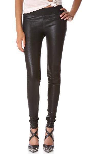 GOLDSIGN Zebra Coated Legging Jeans  SHOPBOP   Save up to 25% Use Code BIGEVENT13