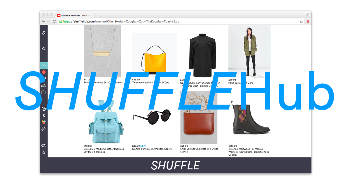 It's shufflehub yo!