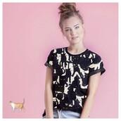yeah bunny,pattern,t-shirt,cats