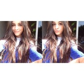 sweater,camila cabello,purple,blue,girl,pants