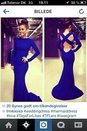 dress,blue,royal blue dress,blue dress,bodycon dress,cut-out dress,formal dress,formal event outfit,prom dress,prom