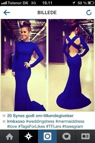 dress blue royal blue dress blue dress bodycon dress cut-out dress formal dress formal event outfit prom dress prom