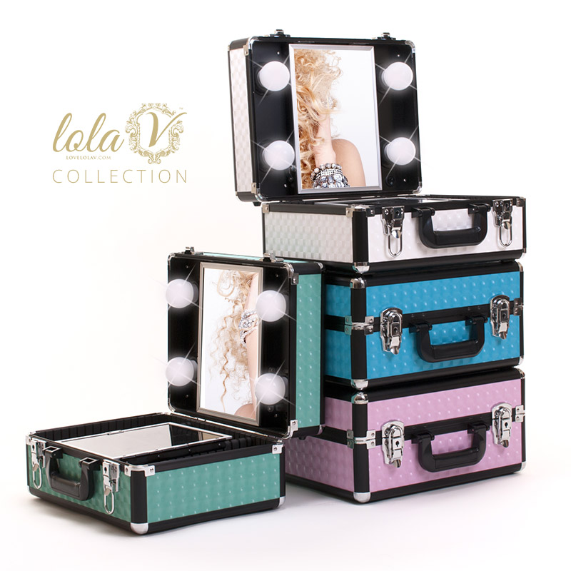 Vanity Case With Lights And Mirror : Makeup Kit With Mirror And Lights - Mugeek Vidalondon