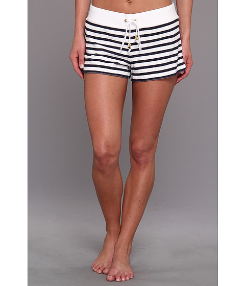 Juicy Couture Micro Terry Stripe Short - Zappos.com Free Shipping BOTH Ways