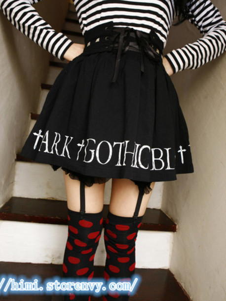 skirt gothic skirt