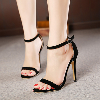 shoes rose wholesale high heels black black heels sandals sandal heels indie classy