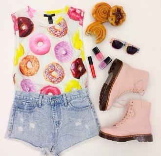 shirt donut