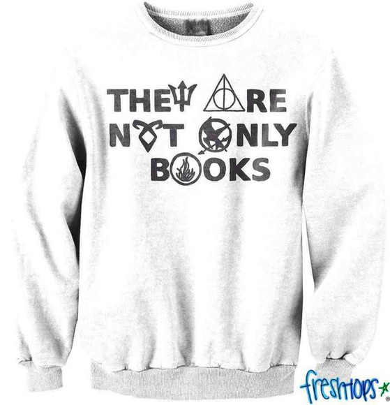 crewneck they are not only books