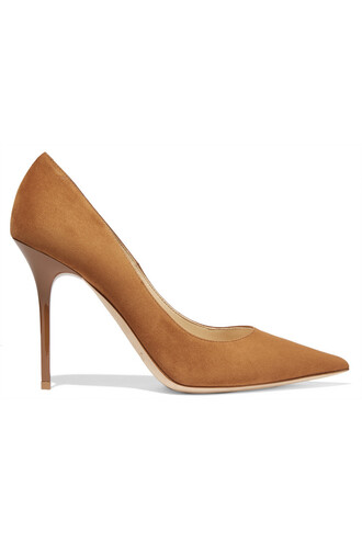 suede pumps pumps suede tan shoes