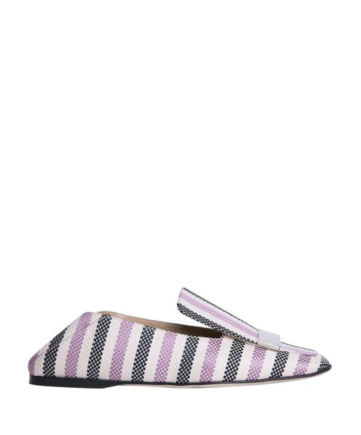 Sergio Rossi jacquard loafers shoes