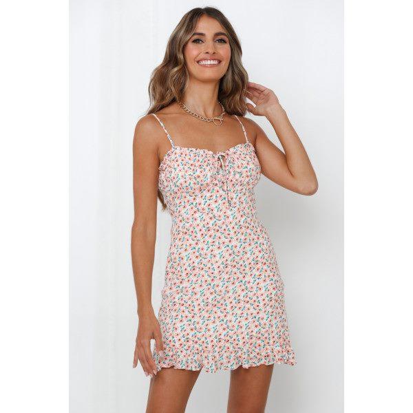 Rosetta Stone Dress Pink