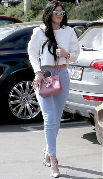bag kylie jenner pants shoes cardigan blouse