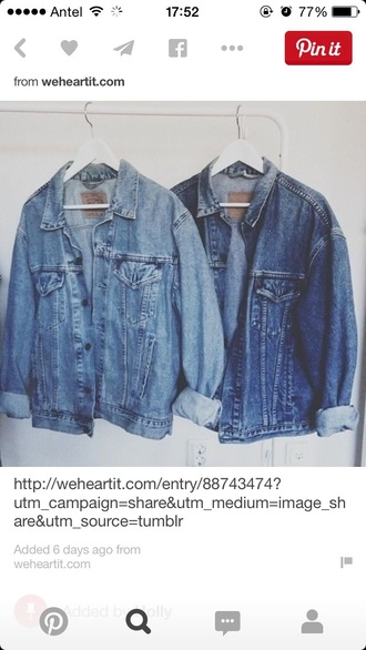 jacket denim jacket retro vintage
