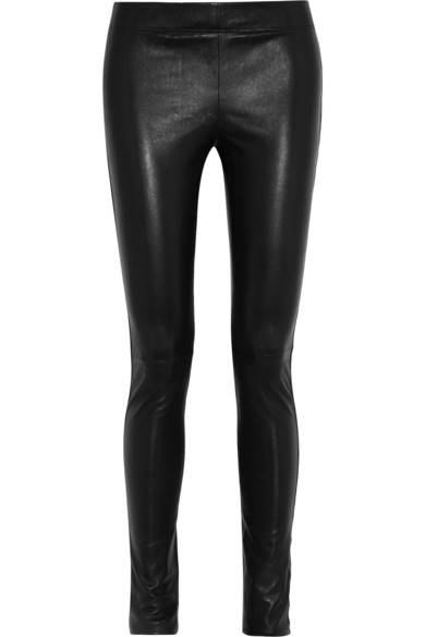 Joseph | Stretch-leather leggings | NET-A-PORTER.COM