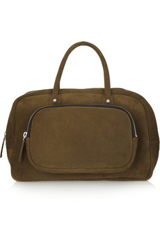 Marni Suede tote - 55% Off Now at THE OUTNET