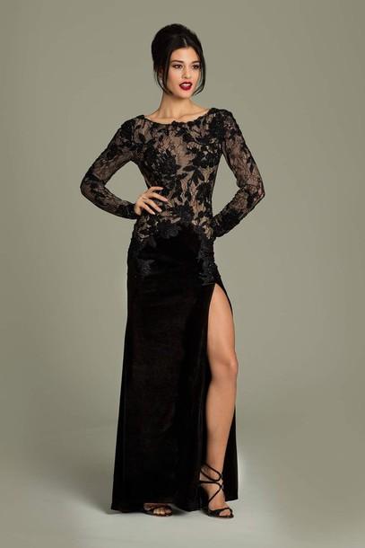 dress jovani prom dress evening dress black dress