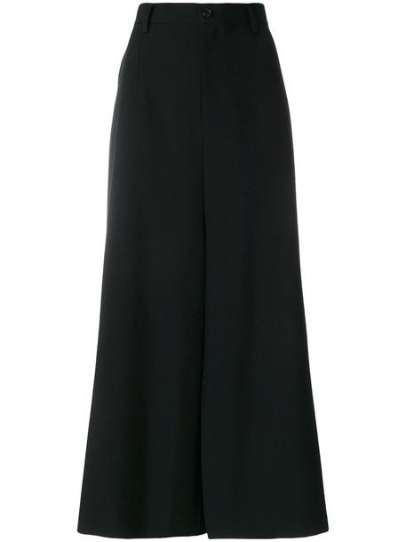 JUNYA WATANABE COMME DES GARÇONS women black wool pants