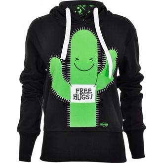 hug cactus hoodie love galentines day