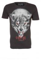 Sin Star WOLF - T-Shirt print - fade black - Zalando.de