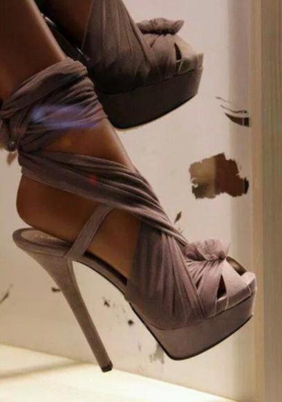 beige shoes high heels satin heels shoes