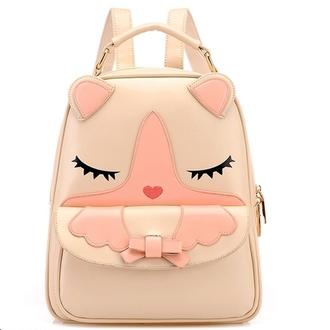 bag cat backpack korean fashion harajuku bowknot cute bag backpack style christmas wishlist