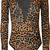 hyacinth leopard print long sleeve bodysuit
