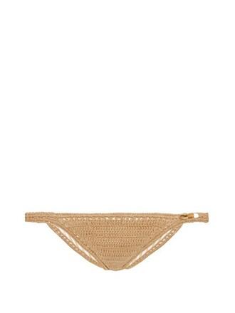 bikini crochet bikini hipster crochet beige swimwear