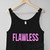 Flawless Cropped Tank £12.99   Free UK Delivery - #TeeIsland