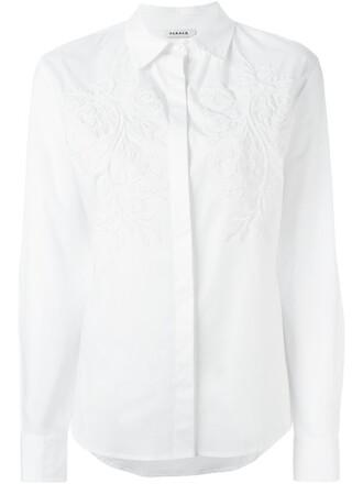 shirt women spandex white cotton top