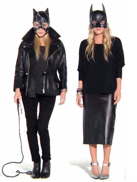 jeans olsen sisters blogger jacket marvel superhero halloween costume halloween accessory