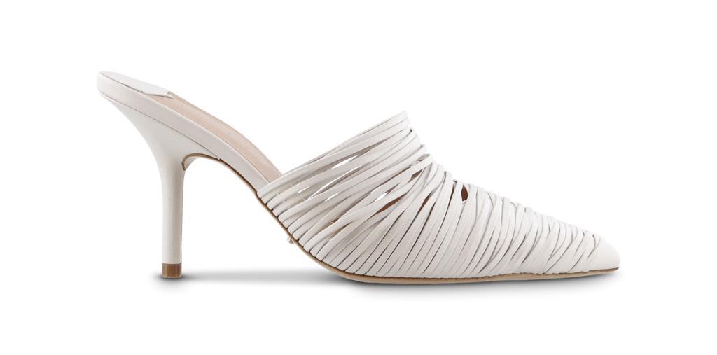 Erika Milk Capretto Heels