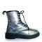 90's hologram metallic dr. martens boots // 7