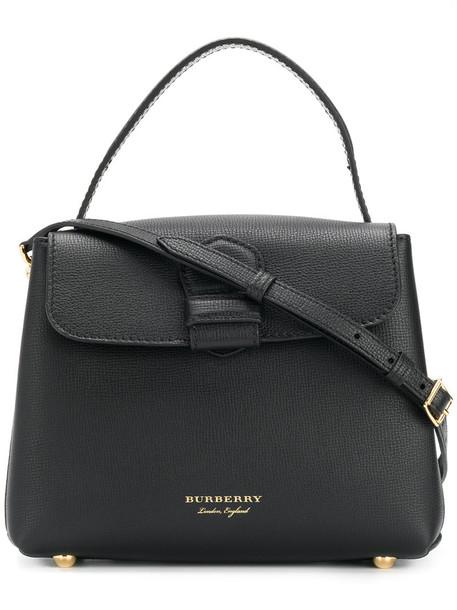 Burberry women bag tote bag leather black