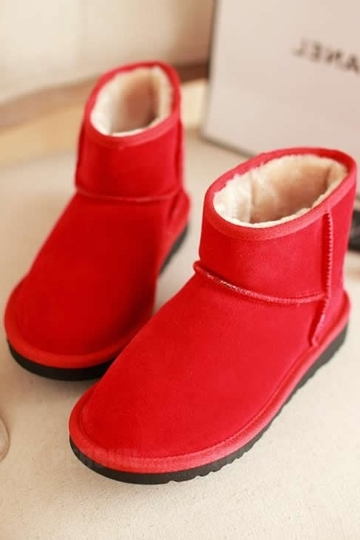 Classic Waterproof Ankle Snow Boots [FABI1462] - PersunMall.com