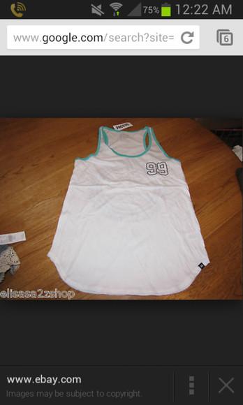 white tank top white shirt blouse white tanktop white shirt for juniours white shirt for teens white tank for teens white clothes white blouse white blouses white tops