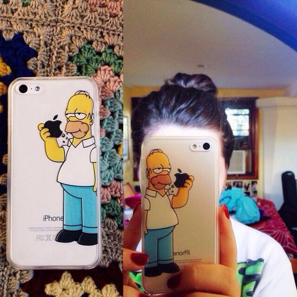 iphone case cartoon the simpsons phone case technology