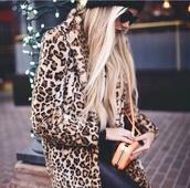 coat,leopard print,fur,faux fur coat,faux fur jacket,jacket,leopard jacket,leopard coat