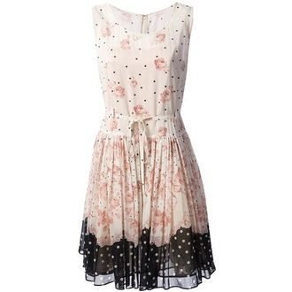 ulzzang clothes vestidos mini dress floral dress multi colour