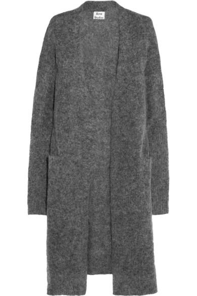Acne Studios|Raya knitted cardigan|NET-A-PORTER.COM